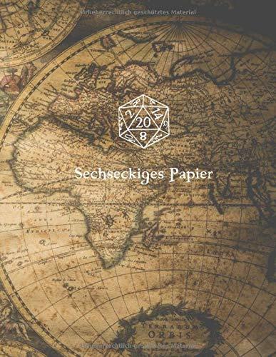 Sechseckiges Papier: 110 A4 Seiten