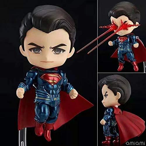 AMrjzr Juguete Batman Vs Superman Q Edition Nendoroid 643# Justice Dawn Superman Figura-1 Estilo-10CM