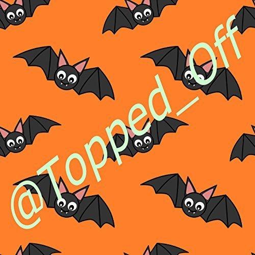 Halloween Fledermäuse A4, für fondant-Glasur, essbar, Kuchendekoration, Topped Off (Kreditkartenformat)