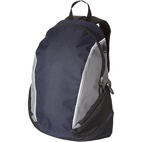 Slazenger Brisbane 15.4 Zoll Laptop Rucksack (31 x 19 x 46cm) (Marineblau/Grau)