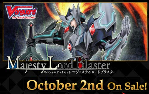 "Cardfight Vanguard SS04 Vanguard Special Series 04 ""Majesty Lord Blaster″ Deck - 50 Cards"