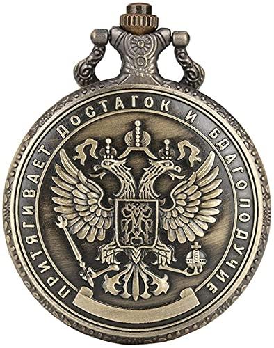 ETRVBSWE Artesanía Copia Réplica Rusia 1 millón de rublos Insignia Conmemorativa Reloj de Bolsillo de colección de Monedas de rublo Plateado en Relieve de Doble Cara