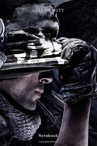 Call of duty ghosts: 6*9 in / 120 page