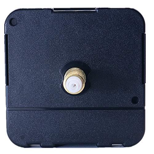 DEEWISH Uhrwerk, HR 8-31mm Axis Length Quarz-Uhrwerk Clock Movement Uhrwerk Quarzuhrwerk DIY Reparatur und Zubehör Einfache Montage EU Standard 56 * 56 * 16.3mm (28 mm, Schwarz)