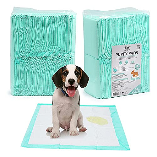 DZL-empapadores Perros(XL 60X90CM60PCS, Blanco) Empapadores de adiestramiento para Mascotas y Cachorro