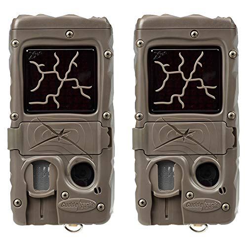 Cuddeback Dual Flash 20MP Invisible Infrared Game Trail Camera, 2 Pack | 1361