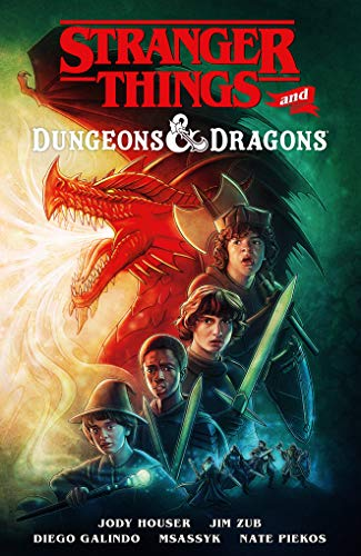 Stranger Things and Dungeons & Dragons (Graphic Novel)