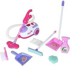 Beito 9PCS / 1 Set Pretend Play Set Juguetes de Limpieza de la casa Educación de la Primera Infancia para niños