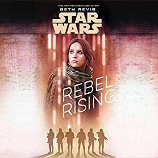 Star Wars: Rebel Rising audiobook cover art