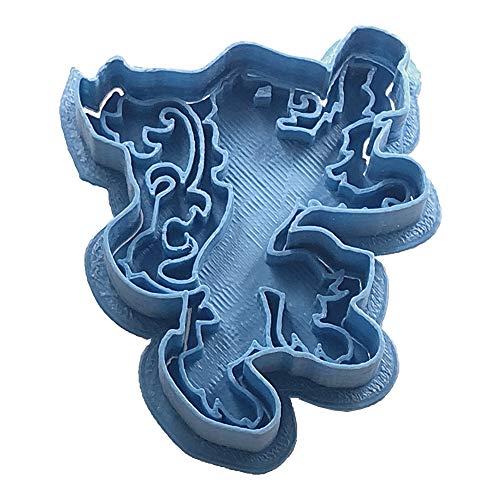 Cuticuter Juego De Tronos Lannister Cortador de Galletas, Azul, 8x7x1.5 cm