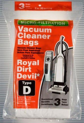 Dirt Devil Vacuum Bags Royal Type D 3 pk product image