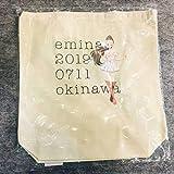エミーナ エコバッグ セブンイレブン沖縄店舗限定 安室奈美恵 ホワイト