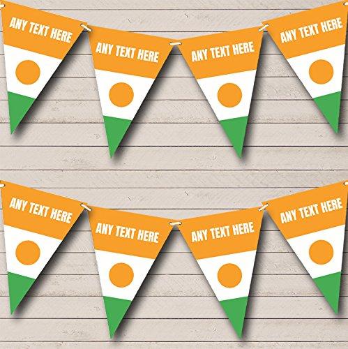 Partij Banner Bunting Niger Vlag Gepersonaliseerde Verjaardag Small