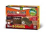 FUEGO NET Fuegonet 231122 Pastillas de Autoencendido, Blanco, 19.8x3x13.5 cm