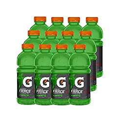 gatorade fierce, green apple