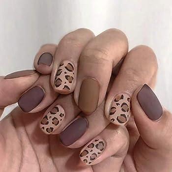 Leopard Skin Acrylic Freedom Fashion Fake Plug Sold by Pair