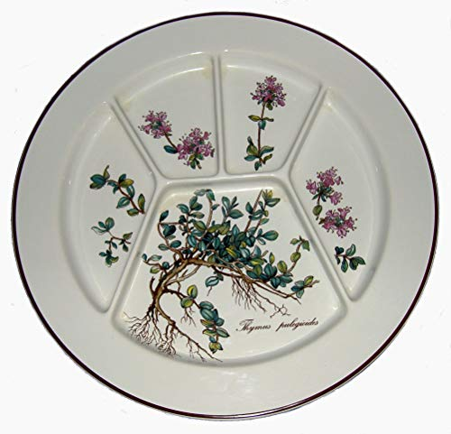 Villeroy & Boch Botanica - Plato para fondue (24,8 cm), diseño de raíces