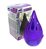 Sirio Deodorante Ambiente Liquido, Profumo Lavanda, Viola, 8 Unità