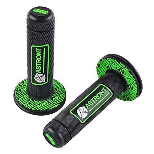 Gummi-Lenker Lenkergriffe Dirt Bike Griff Grip Fit for Kawasaki KX KLX 125 250 250F 450F 100 85 65 Fit for Suzuki RM RMZ Handgriff- Durable and Cost-Effective (Color : Green)