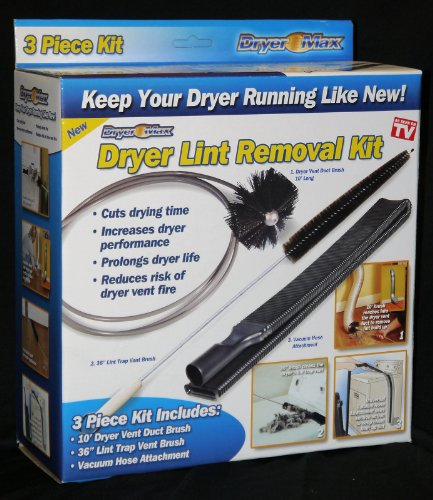 Ontel Products DRMH-MC6 Dry Max Dryer Lint Removal Kit
