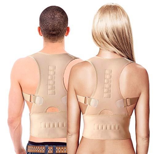 MovilCom® - Corrector de Postura Espalda y Hombros | corrector de espalda | Espalda Recta, Correctores Postural Faja, Corregir Postura Sentado Enderezar, Mujer e Hombres Talla XL ⭐