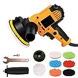 GHKLGTY Pulidora Coche/Kit de Cera con Almohadillas, para pulidor de búfer de automóviles Ideal para lijar de automóvil, Pulido, depilación, glaseado de Sellado
