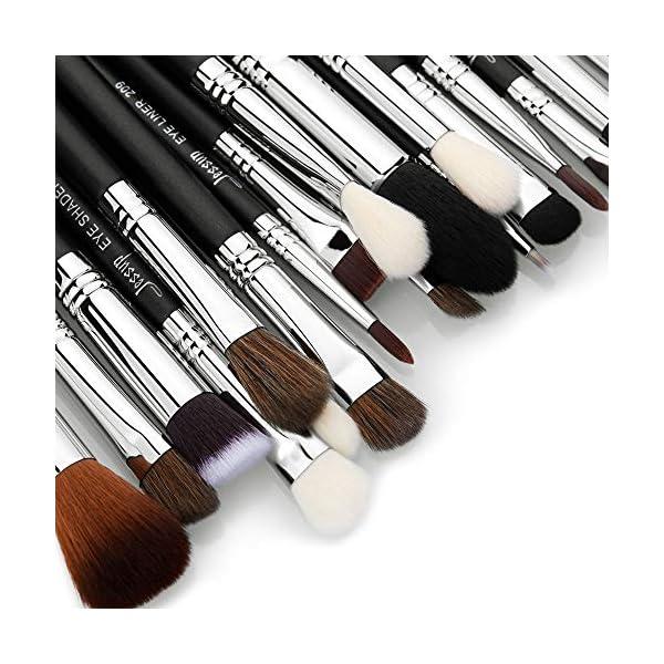 Jessup Brand 19pcs Professional Makeup Brush Pro Set Beauty Eyeshadow Blending Eyeliner Smoked Sloom Cosmetics Tool kit…