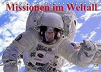Missionen im Weltall (Tischkalender 2022 DIN A5 quer): Spannende Bilder aus der Raumfahrt (Monatskalender, 14 Seiten )