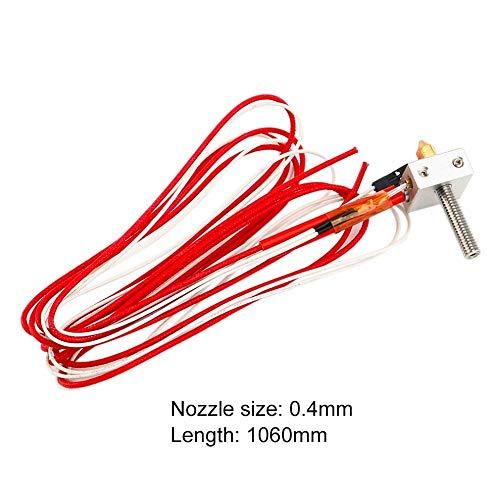WANG-naun-jun,pj Extruder Throat Heater 1.75mm/0.4mm Extruder Heater Block Voor Anet A2 A8 3D Printer Parts Universeel