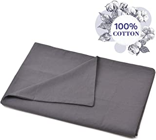Vailge 100% Cotton Removable Duvet Covers for Weighted Blankets(60