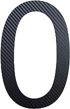 Huisnummer 0 roestvrij staal grijs - carbon hoogte 20 cm Arial 2D weerbestendig roestvrij V2A in de winkel 0 1 2 3 4 5 6 7...