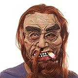 Ruikey Halloween-Horror-Maske für schwere Smoker, Maskerade, Party-Zubehör