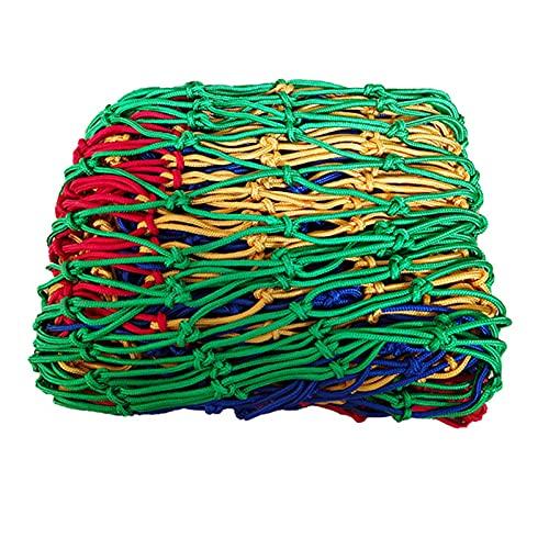 KUAIE Nylon Rope Safe Net, 6/8mm Child Safety Net, Garden Decoration Net Stair Fall Prevention Net Kindergarten Fence Customizable Color : 6mm rope, Size : 1x5m(3x16ft)
