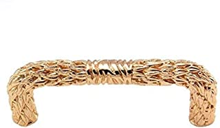 Vicenza Designs K1000 San Michele Pull, 3-Inch, Polished Gold