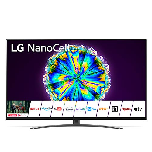 LG NanoCell 55NANO866NA Smart TV 4K Ultra HD 55', con Wi-Fi, Processore α7 Gen3, Nano Color, Local Dimming, Filmmaker Mode, Dolby Vision IQ, Dolby Atmos, HDMI 2.1, Google Assistant e Alexa Integrati