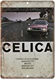 KODY HYDE Metall Poster - Toyota Celica Sales - Vintage