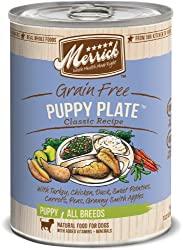 grain free puppy plate food