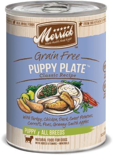 Merrick Classic Grain Free Puppy Plate Wet Puppy...