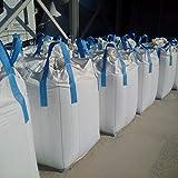 FERRPACK Big Bags 10 PZ Sacconi Big Bags Nuovo Misure 90x90h120 CmPortata 1500 kg per Trasporto Vari Materiali