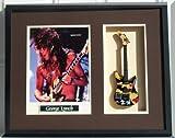 GEORGE LYNCH Guitar Shadowbox Shadow Box Frame Kamikaze