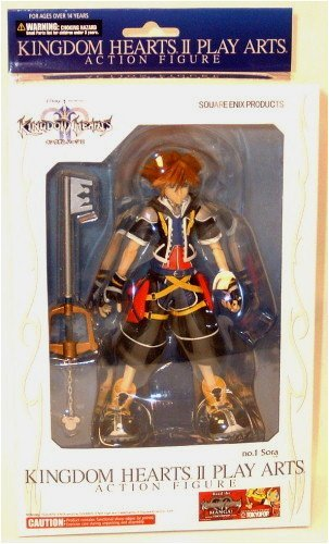 Kingdom Hearts 2 Play Arts Sora 18cm Figur