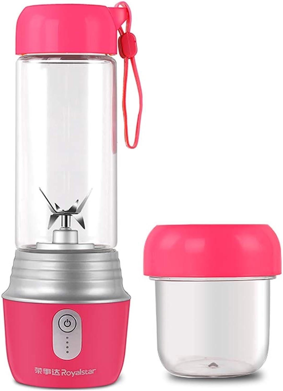 Exprimidores multifuncional Mehe@ Juicer sin Cuerda de Vidrio portátil USB Sports Juice Cup hogar Mini Mezcla de Alimentos suplemento de la máquina