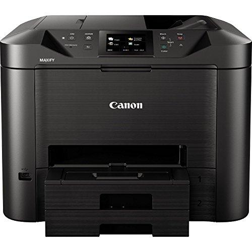 Canon MAXIFY MB5450 Inyección de Tinta 1200 x 1200 dpi A4 WiFi - Impresora multifunción (Inyección de Tinta, Impresión a Color, 1200 x 1200 dpi, 250 Hojas, A4, Negro)