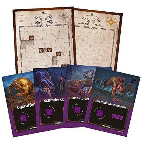 Pegasus Spiele 51312G - Der Kartograph: Neue Entdeckungen [Mini-Erweiterung]