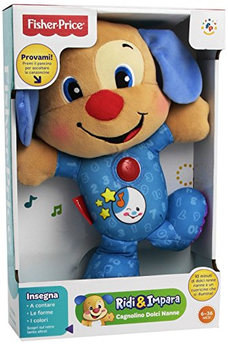 Fisher Price bgc05 – de hond Sweet Slumber Buddies en de zus van de hond Sweet Slumber Buddies – gesorteerd