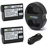 Wasabi Power Battery (2-Pack) and Dual Charger for Nikon EN-EL15