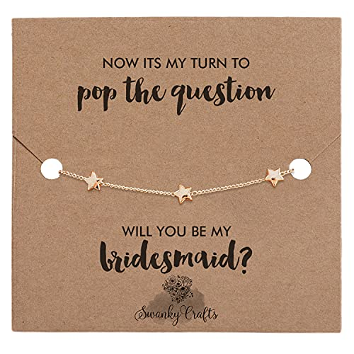 Will you be my bridesmaid proposal gifts