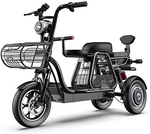 Bici electrica, 3 Rueda de bicicleta eléctrica de montaña adulto Vespa 48V...