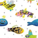 Bedruckte Baumwolle 100% Eco-Print Funny Monster Stoff