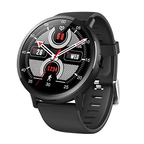 HOMECCLL Intelligente Uhr Android 7.1 LTE 4G SIM WiFi 2.03 Zoll 8MP Kamera GPS Herzfrequenz IP67 Wasserdicht Smartwatch für Männer Frauen